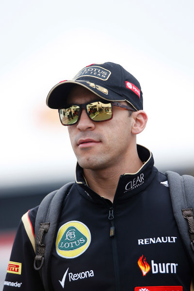 Interlagos, Sao Paulo, Brazil. Friday 7 November 2014. Pastor Maldonado, Lotus F1. World Copyright: Charles Coates/LAT Photographic. ref: Digital Image _N7T7355