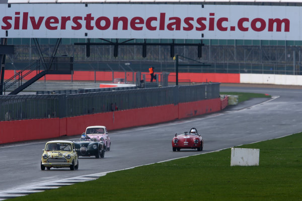 2017 Silverstone Classic Media Day. Silverstone, Northamptonshire. 23rd May 2017. Silverstone Classic action. World Copyright: JEP/LAT Images.