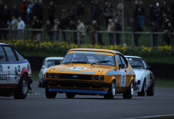 2017 75th Members Meeting Goodwood Estate, West Sussex,England 18th - 19th March 2017 Gerry Marshall Trophy Scarborough Ratcliffe Capri World Copyright : Jeff Bloxham/LAT Images Ref : Digital Image