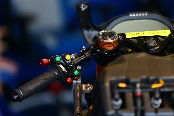 2017 Superbike World Championship - Round 6 Donington Park, UK. Thursday 25 May 2017 Pata Yamaha switch gear World Copyright: Gold and Goose Photography/LAT Images ref: Digital Image 672270