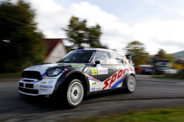 Round 11, Rallye de France 20124th - 7th October 2012Romain Dumas, MINI, actionWorldwide Copyright: McKlein/LAT