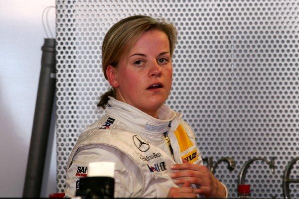2006 DTM Championship.Round 1, Hockenheimring. 7th - 9th April 2006.Susie Stoddart (GBR), Mücke Motorsport, PortraitWorld Copyright: Miltenburg/LATref: Digital Image Only