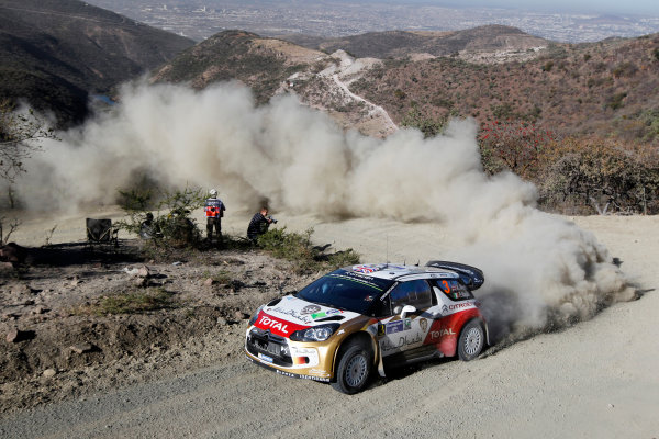 2014 World Rally Championship Rally Mexico 6th - 9th March 2014 Kris Meeke, Citroen, action Worldwide Copyright: McKlein/LAT