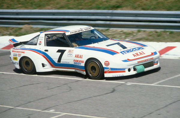 Mosport Park, Ontario, Canada. 14th August 1983. Rd 14.