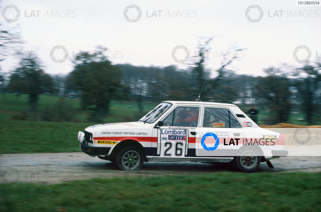 Lombard RAC Rally, Great Britain. 19-23 November 1983.