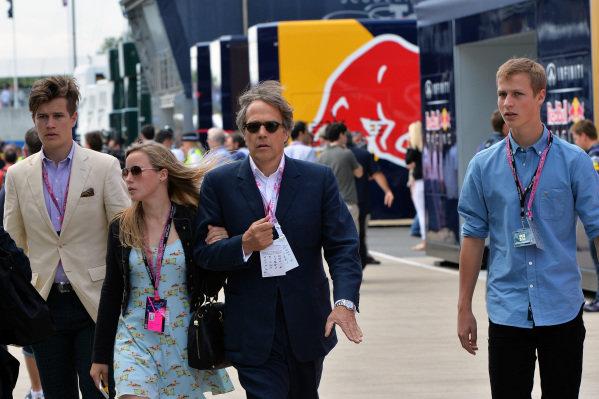 Lord March (GBR).Formula One World Championship, Rd8, British Grand Prix, Race Day, Silverstone, England, Sunday 30 June 2013.