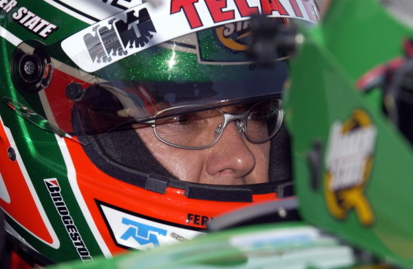 Adrian Fernandez (MEX), Fernandez Racing, was second fastest after first round qualifying at the Centrix Financial Grand Prix of Denver.  Champ Car World Series, Rd15, Grand Prix of Denver, Denver, Colarado, USA. 29-31 August 2003.DIGITAL IMAGE