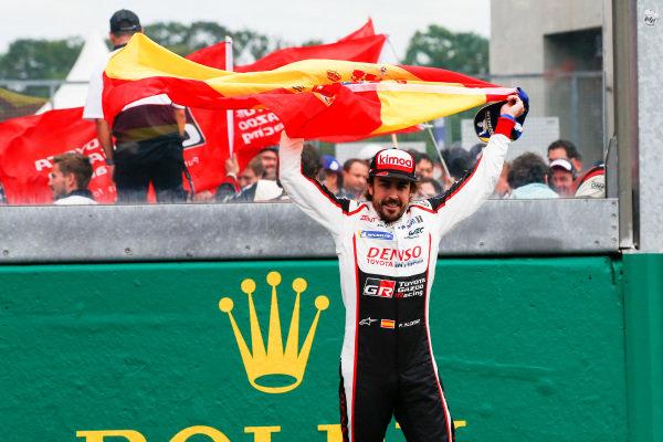 Fernando Alonso, Toyota Gazoo Racing.