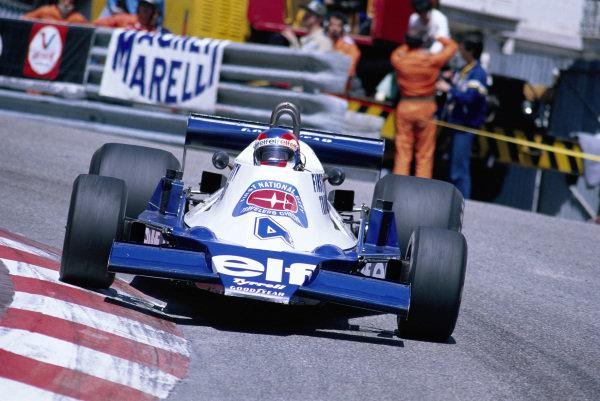 Patrick Depailler, Tyrrell 008 Ford.