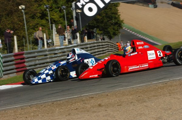 2007 Formula Ford FestivalBrands Hatch 19th / 20th / 21st October 2007Formula Ford DuratecMarc Murray and Anders KrohnWorld Copyright Jeff Bloxham / LAT