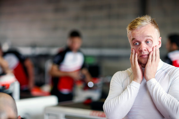 FIA Formula E Second Pre-Season Testing Event. Felix Rosenqvist, Mahindra Racing, Spark-Mahindra. Donington Park Racecourse, Derby, United Kingdom. Wednesday 7 September 2016. Photo: Adam Warner / LAT ref: Digital Image _L5R3574
