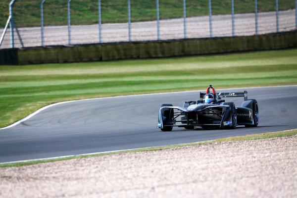 FIA Formula E Season 3 Testing - Day Two. Donington Park Racecourse, Derby, United Kingdom. Jose Maria Lopez, DS Virgin Racing, Spark-Citroen. Wednesday 24 August 2016. Photo: Adam Warner / LAT / FE. ref: Digital Image _L5R0449