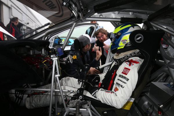 2016 British Touring Car Championship, Media Day, Donington Park, 22nd March 2016, Ollie Jackson (GBR) AmDTuning.com Audi A3 Saloon  World Copyright. Jakob Ebrey/LAT Photographic