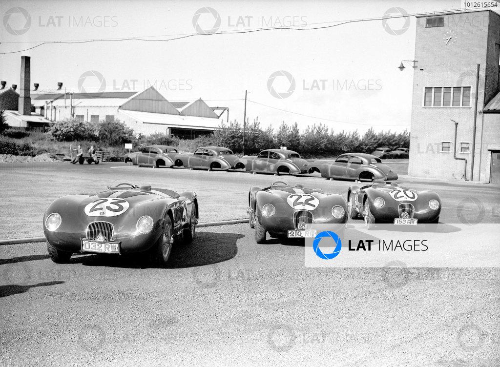 1951 Le Mans 24 hours.