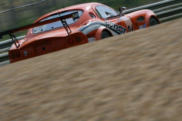 2007 Le Mans Test Day2nd and 3rd June 2007.Le Mans, France.Sunday Test DayTom Kimber-Smith (GBR)/Danny Watts (GBR)/Tom Milner (USA) (no 81 Panoz Esperante GTLM) action.World Copyright: Glenn Dunbar/LAT Photographic. ref: Digital Image YY8P5810