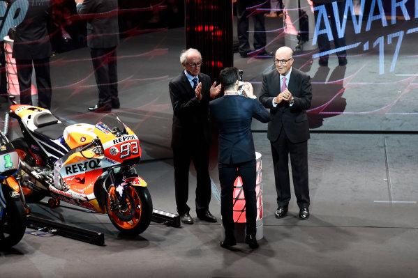 2017 MotoGP Championship - Round 18 Valencia, Spain  Sunday 12 November 2017 Marc Marquez, Repsol Honda Team  World Copyright: Gold and Goose Photography/LAT Images  ref: Digital Image 706774