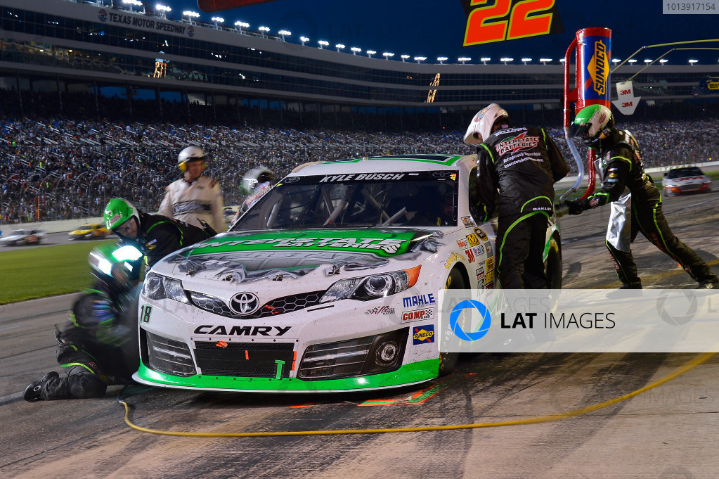April 11-13, 2013 Fort Worth, Texas USA Kyle Busch, Interstate Batteries Toyota Camry © 2013, Brian Czobat LAT Photo USA .