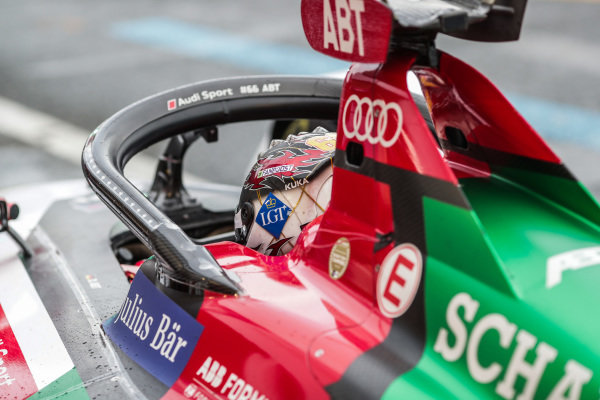 Daniel Abt (DEU), Audi Sport ABT Schaeffler, Audi e-tron FE05, in the pit lane