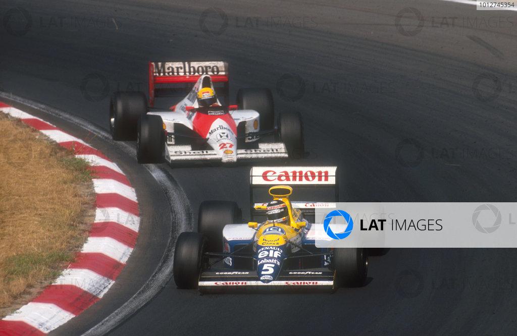 1990 Hungarian Grand Prix.