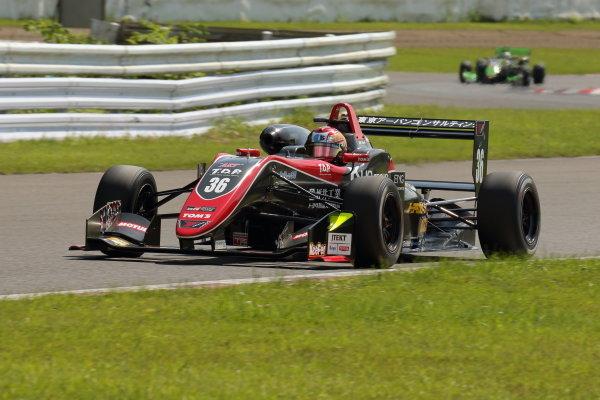 Rd15 Winner Ritomo Miyata, Corolla Chukyo Kuo TOM'S Dallara F317 Toyota