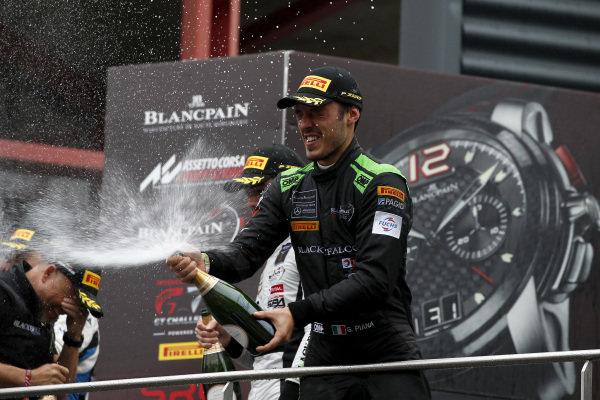 Podium Silver: third place #6 BLACK FALCON Mercedes-AMG GT3: Gabriele Piana.