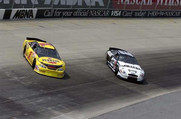 Steve Park, Ryan Newman NASCAR Photos (2002)