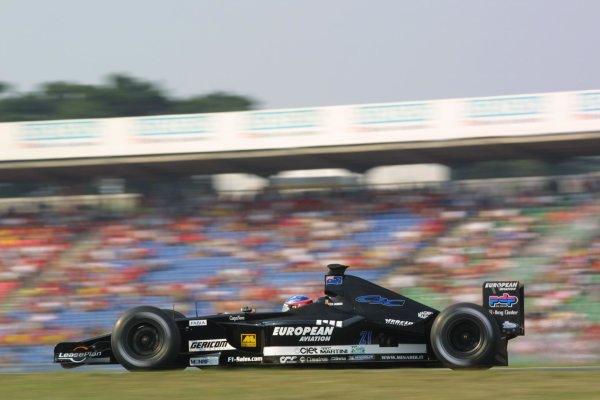 2001 German Grand Prix - RaceHockenheim, Germany. 29th July 2001Fernando Alonso, European Minardi PS01, action.World Copyright - LAT PhotographicRef: 9 MB Digital File Only