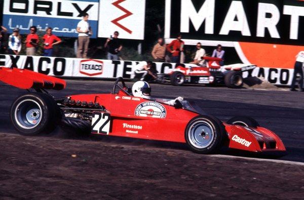 1973 Belgian Grand Prix.Zolder, Belgium.18-20 May 1973.Chris Amon (Tecno PA123) 6th position.World Copyright - LAT Photographic