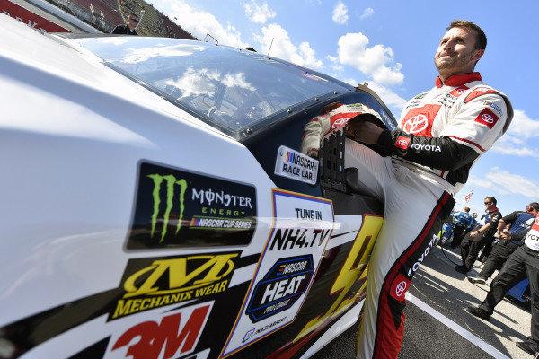 #95: Matt DiBenedetto, Leavine Family Racing, Toyota Camry Toyota Express Maintenance