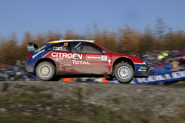 2003 FIA World Rally Champs. Round fourteen Wales Rally GB 6th-9th November 2003.Colin McRae, Citroen, ActionWorld Copyright: McKlein/LAT