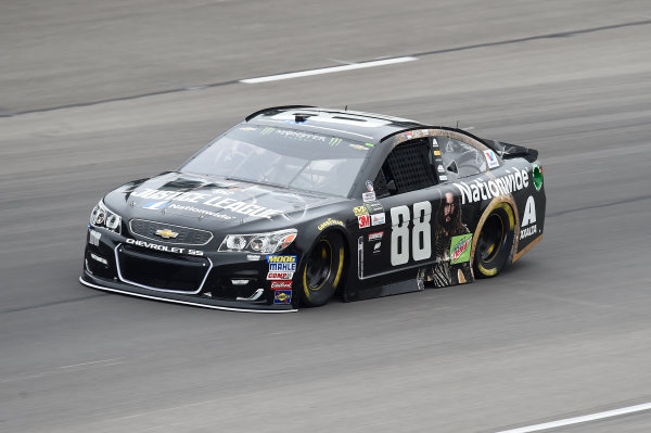 Monster Energy NASCAR Cup Series AAA Texas 500 Texas Motor Speedway Fort Worth, TX USA Friday 3 November 2017 Dale Earnhardt Jr, Hendrick Motorsports, Nationwide/Justice League Chevrolet SS World Copyright: John K Harrelson LAT Images