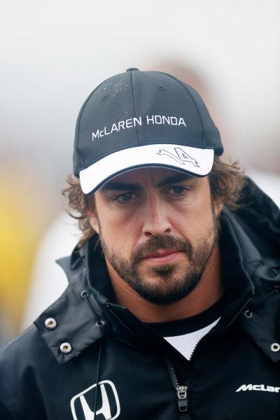 Circuit Gilles Villeneuve, Montreal, Canada. Friday 05 June 2015. Fernando Alonso, McLaren. World Copyright: Alastair Staley/LAT Photographic. ref: Digital Image _79P1602