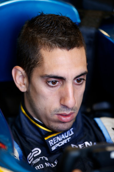 FIA Formula E Test Day, Donington Park, UK.  9th - 10th July 2014.  Sebastien Buemi, e.dams. Photo: Glenn Dunbar/FIA Formula E ref: Digital Image _89P3179
