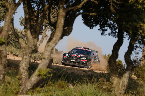 2014 World Rally Championship Rally Italy Sardinia 5th - 8th June 2014 Lorenzo Bertelli, Mitia Dotta, Ford RRC, Action Worldwide Copyright: McKlein/LAT
