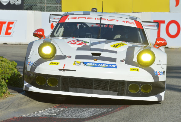 11-13 April, 2014, Long Beach, California USA #911, Porsche, 911 RSR, GTLM, Nick Tandy, Richard Lietz ©2014, Dan R. Boyd Lat Photo USA