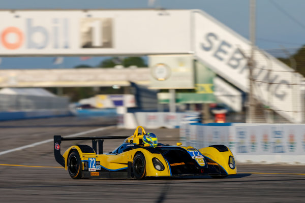 2017 IMSA Prototype Challenge Sebring International Raceway, Sebring, FL USA Wednesday 15 March 2017 72, Tazio Ottis, MPC, Elan DP-02 World Copyright: Jake Galstad/LAT Images ref: Digital Image lat-galstad-SIR-0317-14961