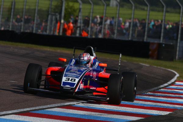 2017 British F4 Championship, Thruxton, 6th-7th May 2017,  Jamie Caroline (GBR) Carlin British F4 World copyright. JEP/LAT Images