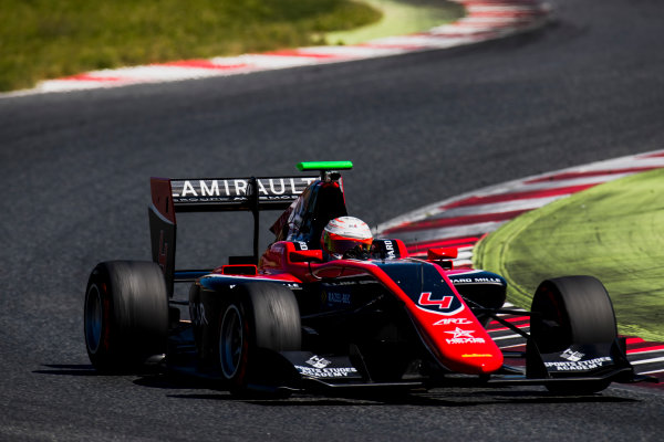 2016 GP3 Series Test 2. Circuit de Catalunya, Barcelona, Spain. Thursday 20 April 2017. Anthoine Hubert (FRA, ART Grand Prix)  Photo: Zak Mauger/GP3 Series Media Service. ref: Digital Image _56I5515