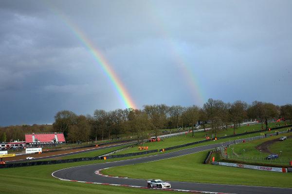 2017 Ginetta GT4 Supercup,  Brands Hatch, 1st-2nd April 2017 George Gamble JHR Developments Ginetta G55 World Copyright. JEP/LAT Images