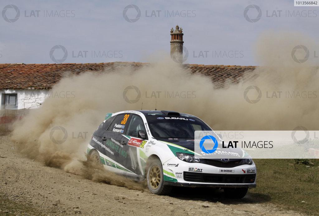 Round 03-Rally Portugal. 23th-27th March 2011, Haydon Paddon, Subaru PWRC, ActionWorldwide Copyright: McKlein/LAT