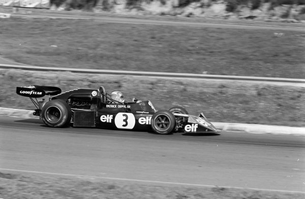 Patrick Depailler, March 742 BMW/Rosche.