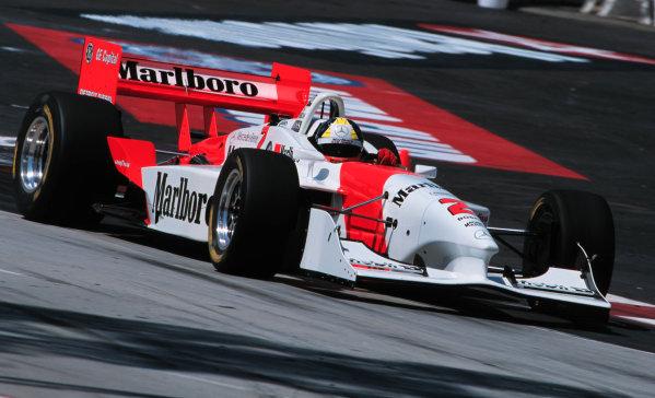 1999 CART Long Beach Grand Prix.Long Beach, California, USA.18 April 1999.Tarso Marques (Penske PC27B-Mercedes-Benz).World - Michael L. Levitt/LAT Photographic