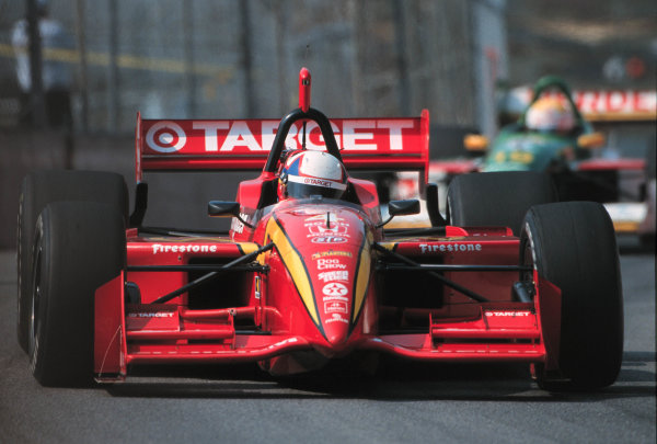 1999 CART Toronto G P.Montoya leads Jourdain-1999, Michael L. Levitt, USALAT PHOTOGRAPHIC