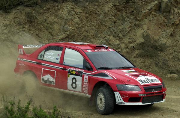 World Rally Championship, Cyprus Rally, April 18-21, 2002.Alister McRae during shakedownPhoto: Ralph Hardwick/LAT