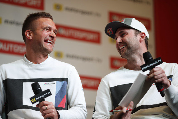 Colin Turkington and Andrew Jordan