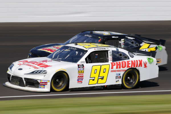 #99: Stefan Parsons, B.J. McLeod Motorsports, Toyota Supra Phoenix Construction and #93: Josh Bilicki, RSS Racing, Chevrolet Camaro RSS Racing Sci Aps