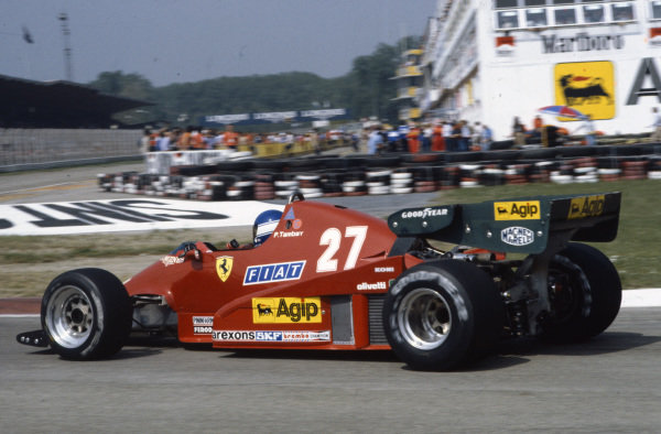 Patrick Tambay, Ferrari 126C2B.