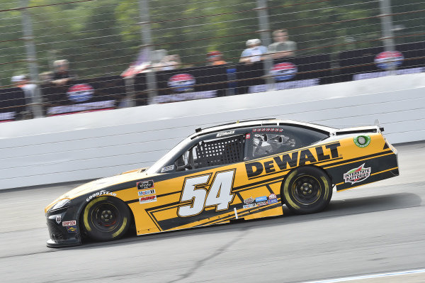 #54: Christopher Bell, Joe Gibbs Racing, Toyota Supra DEWALT