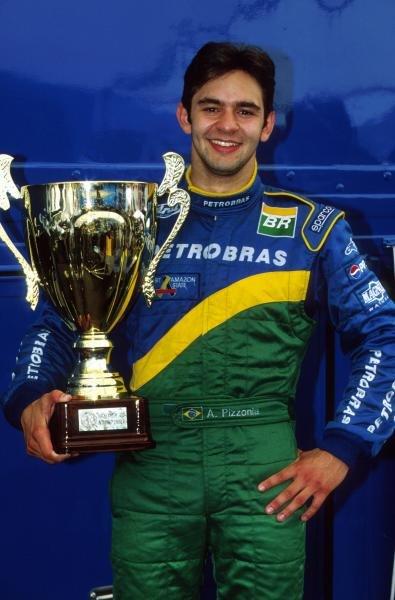 Antonio Pizzonia (BRA) Petrobras Junior Team claimed his first F3000 victory.International Formula 3000 Championship Rd 9, Hockenheim, Germany, 28 July 2001.BEST IMAGE