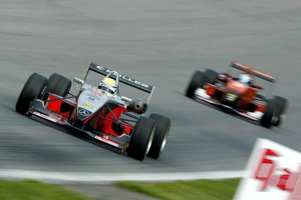 Charles Zwolsmann (NED) Team Kolles Racing Dallara Mercedes.F3 Euro Series, Rd13 & Rd14, A1-Ring, Austria, 6 September 2003.DIGITAL IMAGE